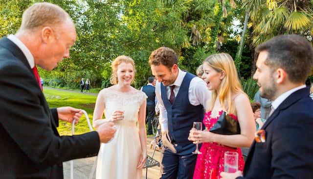 Wedding Magician Darren Delaney