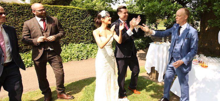 Darren Delaney Wedding Magician