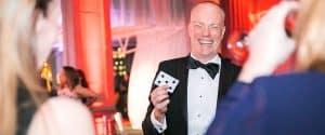 Darren Delaney, magician in Tuxedo