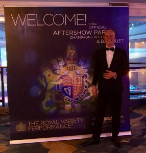 Darren Delaney Royal Variety Performance AfterParty